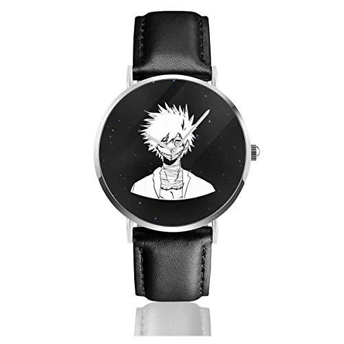 Relojes Anolog Negocio Cuarzo Cuero de PU Amable Relojes de Pulsera Wrist Watches Dabi Boku No My Hero Academia Anime