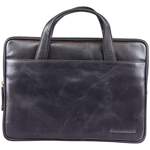 dbramante1928 Silkeborg hoogwaardige elegante lederen tas laptoptas voor laptops en Apple MacBooks tot 13