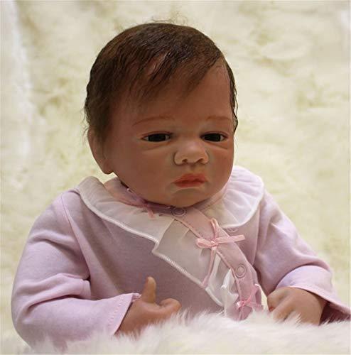 MAIHAO Bebes Reborn Muñecas bebé Silicona Ninas Toddler Baby Dolls Niño Originales Muñecos Girls Baratos 50 Cm
