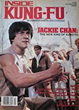 October 1980 Inside Kung Fu Magazine Jackie Chan Cover