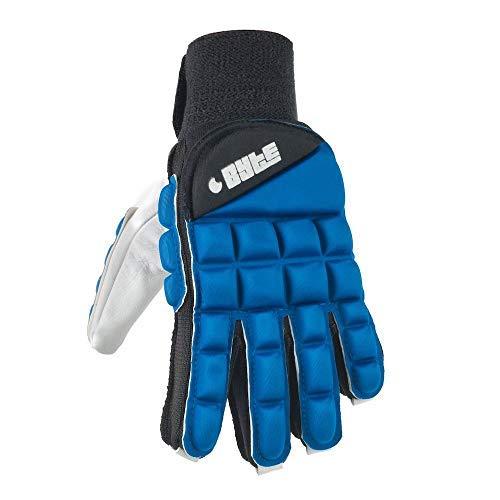 Byte Club Feldhockey-Handschuh, rechte Hand, Blau, blau, EXTRA SMALL