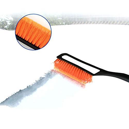 %45 OFF! ADSRO Car Snow Brush, 2 in 1 Removable Snow Brush with Ice Shovel Car Hammer Snow Shovel Sh...