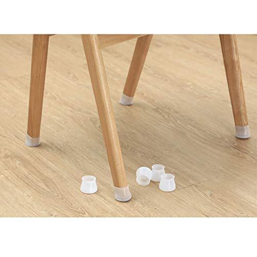 Yurgrt - 8 Tapas Protectoras para Muebles,Tapas de sillas,Fundas de Silicona para sillas,Almohadillas para pies,Tapas para sillas,Protectores para piernas de sillas,Tapas para piernas de