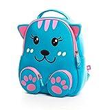 Cocomilo Kinder-Rucksack, für Schule, Zoo Lunch-Tasche, 3D-Design, niedliches Tier-Design, Vorschulrucksack mit reflektierenden Streifen, ., .