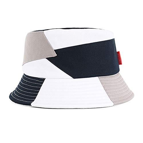 Saisma hoed vrouw brede hoed zijde UV-bescherming zonneklep zonnehoed vrouwelijk mode mannen en vrouwen vishoed grote kop hoed outdoor vrije tijd zwembad pet vrouwelijk poeder wit grijs
