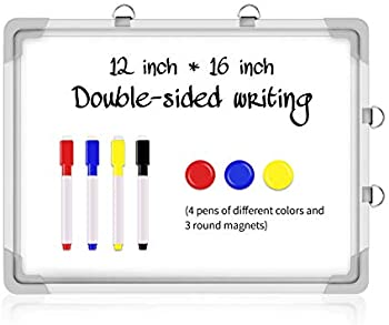 Pgzsy 16 x 12 Inch Magnetic Dry Erase Board