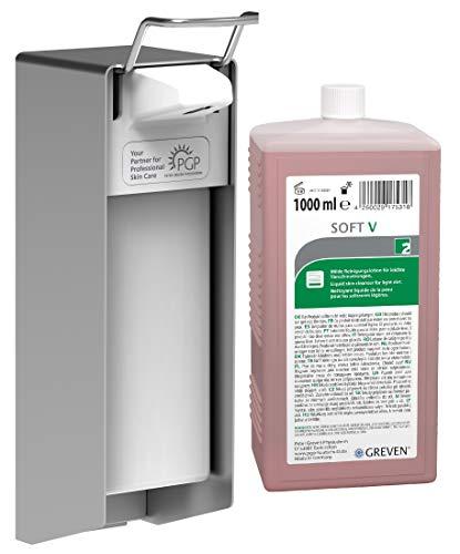 EUROMAT 1000 N mit GREVEN SOFT V 1000 ml Flasche