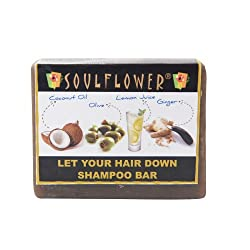 low poo products ~ soulflower coconut shampoo bar