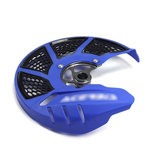 Rotor del freno delantero de disco protector para pantalla para Kawasaki KX125/25006–08kxf250/4502006–2017KLX450R 2008–2015motocicleta Dirt Bike
