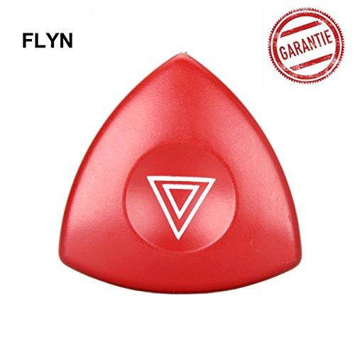 FLYN Warnblinkschalter Warnblinklicht Notfall Lichtschranke Schalter Warnblinker Schalter Ersatzteil Warnblinkerschalter 8200442724
