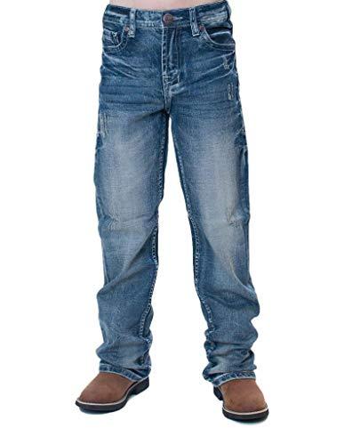 B. Tuff Western Jeans Boys Monster Mike Bootcut 12 Reg Med Wash BJMRMK