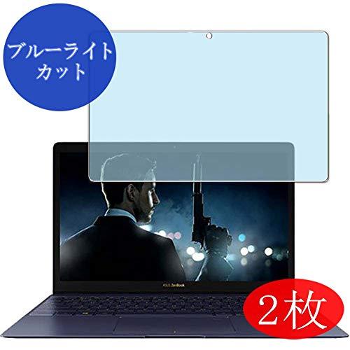 VacFun 2 Piezas Filtro Luz Azul Protector de Pantalla para ASUS ZenBook 3 UX390UA 12.5