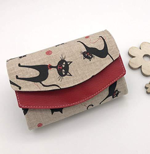 Portemonnaie Genius mit Katzen