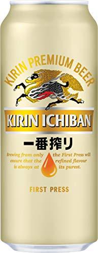 KIRIN ICHIBAN japanisches Premium-Bier (helles Malzbier, nach dem First Press Verfahren gebraut, Dosenbier mit 5 % Alkoholgehalt, Einweg) (1 x 0,5 l)