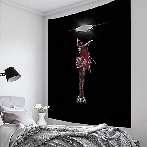 KHKJ Tapiz Creativo Alfabeto Animal Tapiz Mandala psicodélico Boho decoración para Sala de Estar decoración de Pared A8 200x180cm