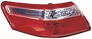 Go-Parts - OE Replacement for 2007 - 2009 Toyota Camry Rear Tail Light Lamp Assembly Housing / Lens / Cover - Left (Driver) Side 81560-06240 TO2818129 Replacement For Toyota Camry