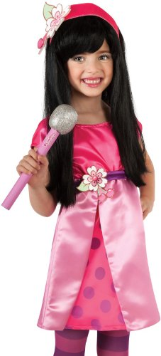 Rubies Strawberry Cherry Jam Glitter Microphone Costume Accessory