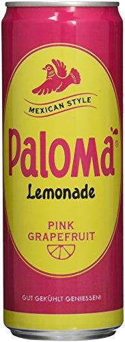 PALOMA PINK GRAPEFRUIT Lemonade mit Kohlensäure, 12er Pack, EINWEG (12 x 355 ml)