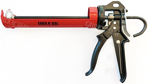 Heavy Duty, Revolving Frame Caulking Gun, 1/10-Gallon Cartridge Capacity, 23:1 Thrust Ratio