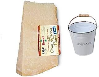 Parmigiano Reggiano Bonat 1KG stagionato 24 mesi + Secchiello Multiuso incluso nel prezzo