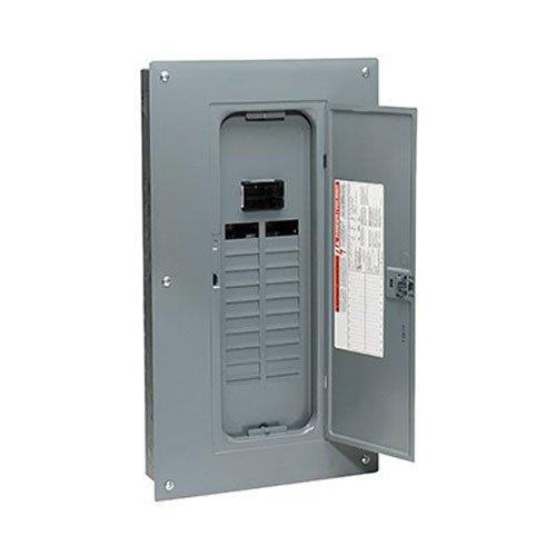 Square D por SCHNEIDER ELECTRIC hom2040m100pc homeline 100Amp 20-space 40-circuit interior centro de carga interruptor principal con tapa (Plug-on Neutral Ready),,