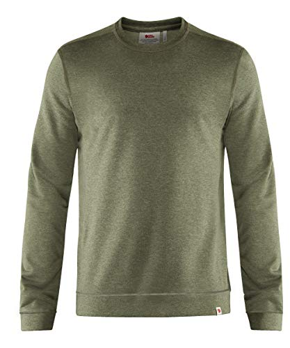 Fjallraven High Coast Lite Sweater M Suéter Ligero y Compacto, Mens, Verde (Green)