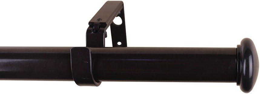 MERIVILLE 1-Inch Diameter Granville End Max 55% OFF Cap Window Treatm Single Luxury goods