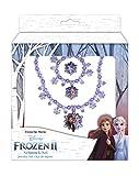 CRAZE Frozen 2 Jewelry Schmuckset Halskette + Armband Die Eiskönigin Mädchenschmuck 22818