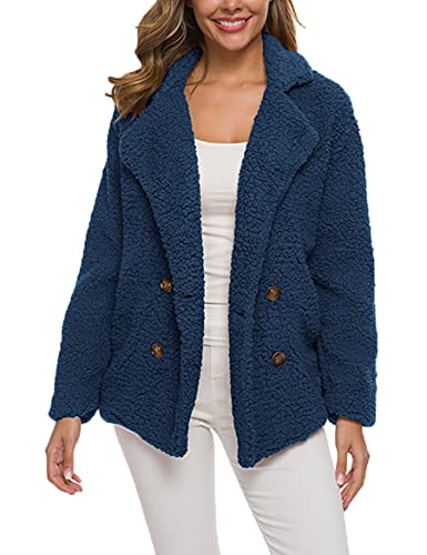 WBYFDC Abrigo De Suéter De Felpa Para Mujer Otoño Invierno Engrosamiento Chaqueta Informal Señoras Cálidas Gruesas