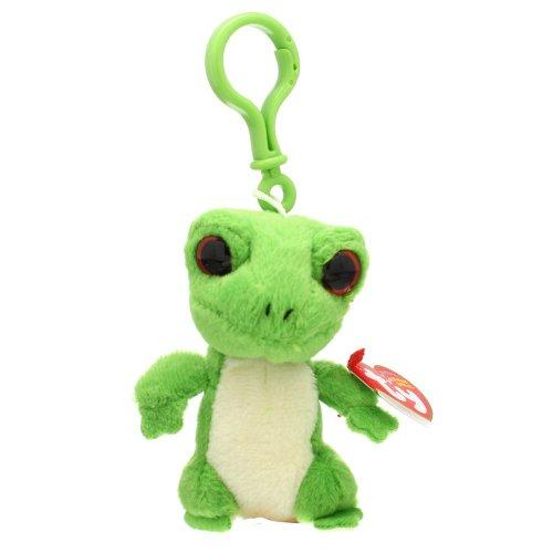 Ty Beanie Baby - Gus Key-Clip the Gecko