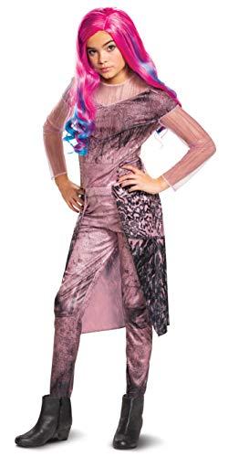 Disfraz clásico de Audrey Descendants para 3 niñas - Rosa - Size 14/16 bundle w/ Wig