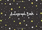 Autograph Book: Blank Pages Unlined for Keepsake Signatures Memorabilia Album Gift Trip Memory Book