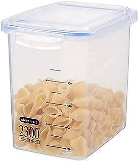 Pkfinrd Grands conteneurs de Stockage en Plastique avec couvercles pour couvercles de Farine et de sursAir Cuisine serrée ...