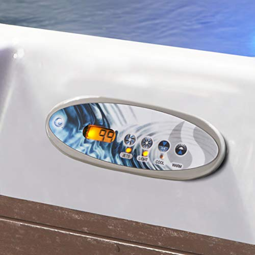 Essential Hot Tubs 30-Jet 2020 Adelaide Hot Tub, Seats 5-6, Espresso