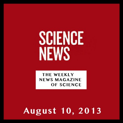 Science News, August 10, 2013 cover art
