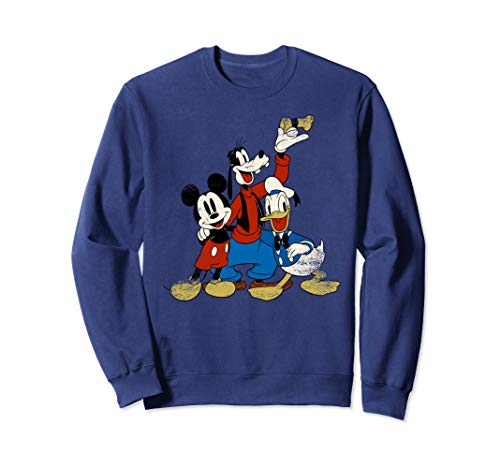 Disney Classic Friends Mickey and Gang Graphic Sweatshirt