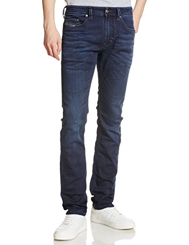 Diesel Thavar-NE 0842W Herren Jeans Hose JoggJeans (26W, Blau)