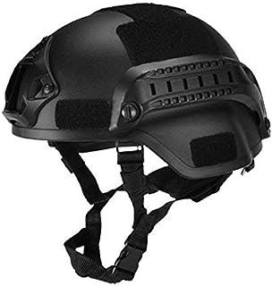koiry Militar Táctico Casco Airsoft Engranaje Paintball Cabeza Protector con Visión Nocturna Deporte Soporte de Cámara