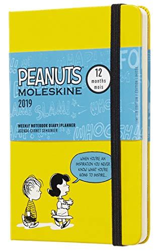 Moleskine DPE12WN2Y19 - Libreta semanal 12m de edición limitada Peanuts de...
