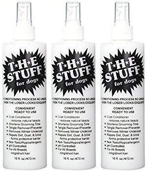 The Stuff 16oz Conditioner & Detangler - Pack of 3