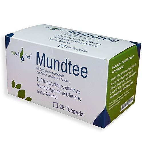newilind® OPC Mundtee Trink- und Spüllösung beruhigt strapazierte Mundschleimhaut