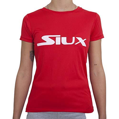 Siux Camiseta Team Rojo Mujer