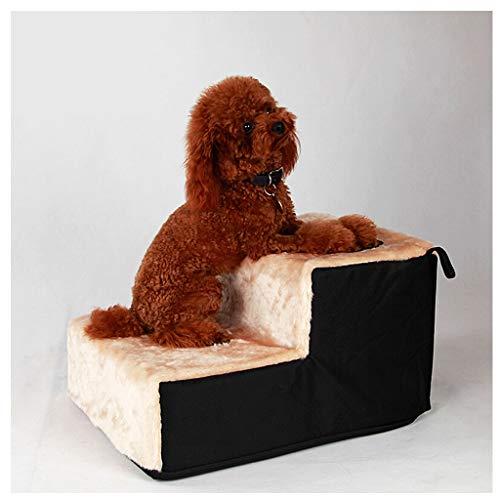 Pet-Dog Überbackene Haustier-Rampe-Hundetreppe für Haustier-Leiter 2 Schritt für Katze/Hund