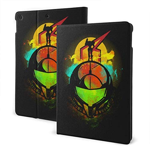 Metroid Prime Case Fit IPad One Size with Auto Sleep/Wake Stand Leather Case for Ipad Air (3rd Gen),Pro 10.5,7th Generation 10.2 Inch IPD-197