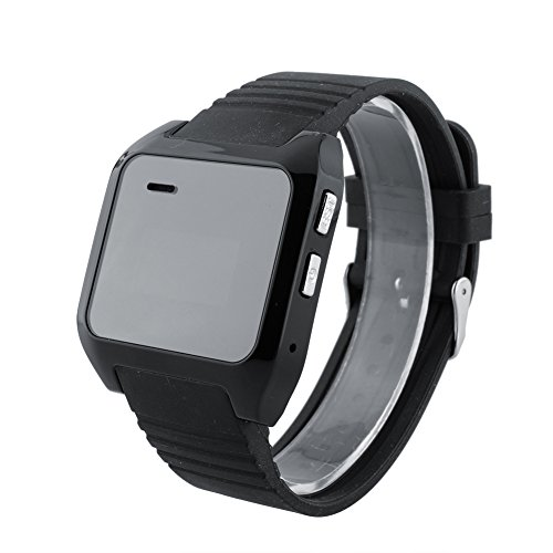 LEAMER Smartwatch Phone Original Uhr V9 Bluetooth, Schwarz