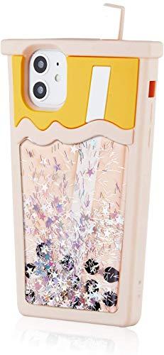 SevenPanda Hülle für iPhone 11 Silikon Karton Design Nette Abdeckung Lustige Mode Kawaii Hautschutzzubehör Shell für iPhone 11 6.1