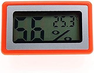 hkwshop Higrómetro para Interior Conveniente Digital LCD Termómetro Sensor Higrómetro Calibrador refrigerador Aquarium Mon...