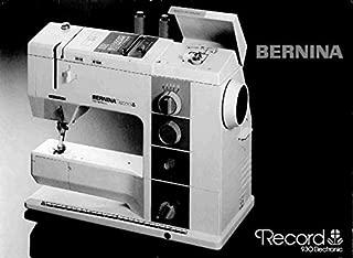 bernina record 930 electronic