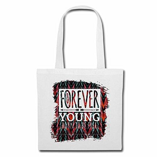 Bolsillo Bolso Bolsa FOREVER YOUNG nacen libres REGALOS PARA SIEMPRE cumpleaños joven...