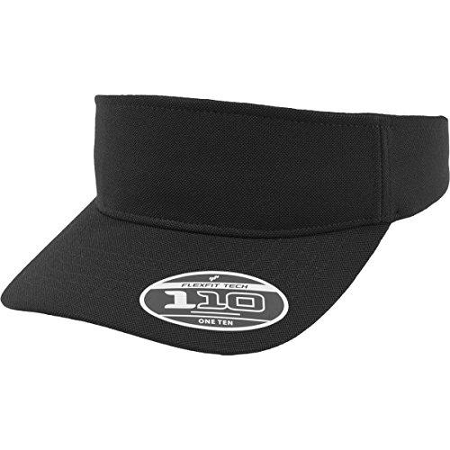 Flexfit Flexfit Uni 110 Visor Schirmmützen, Black, One Size